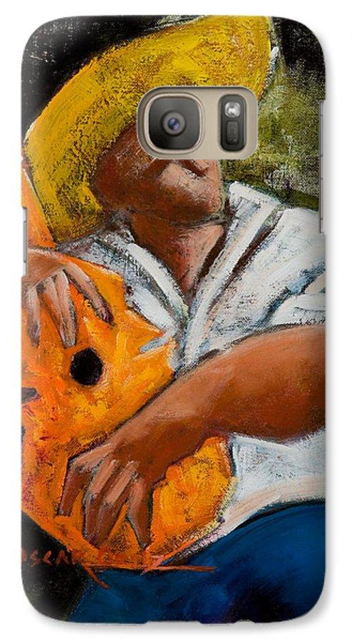 Puerto Rico Galaxy S7 Case featuring the painting Bravado Alla Prima by Oscar Ortiz