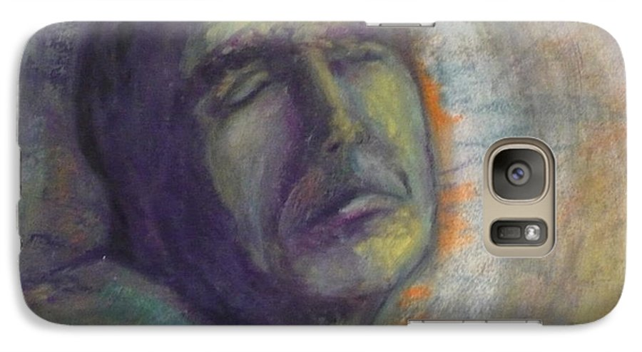 Painting Galaxy S7 Case featuring the painting Break On Through by Todd Peterson