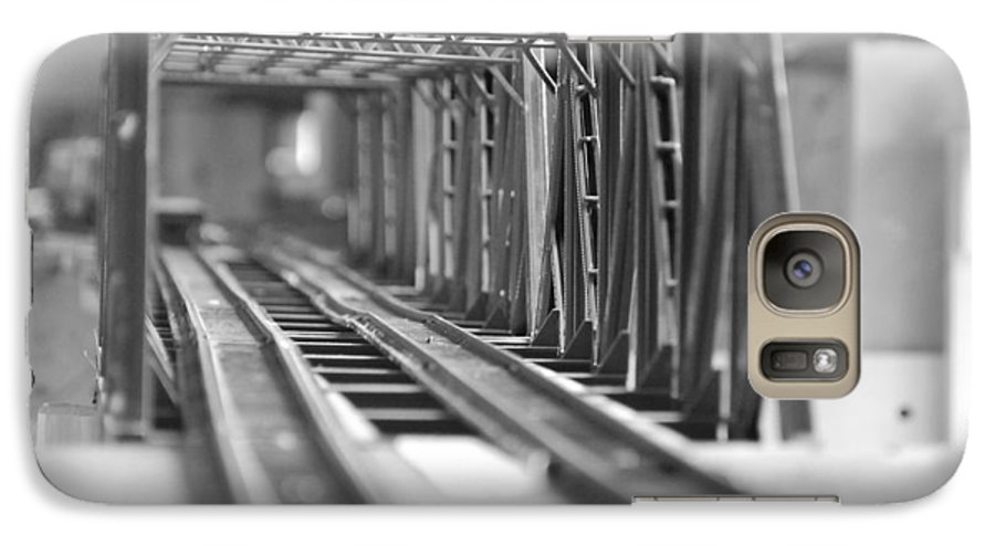Models Galaxy S7 Case featuring the photograph Bridge To Jerry Town by Margaret Fortunato