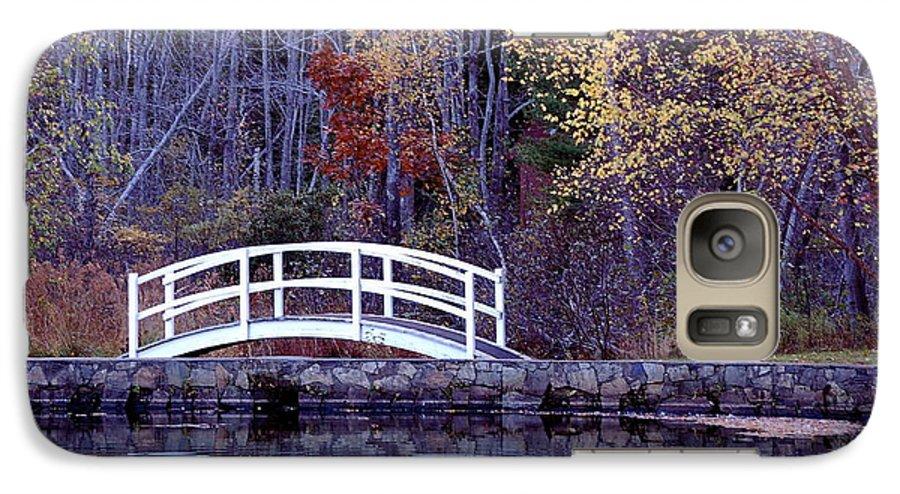 Bridge Galaxy S7 Case featuring the photograph Bridge To Serenity by Faith Harron Boudreau