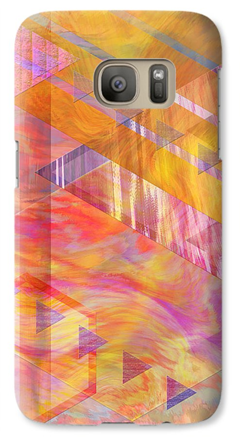 Affordable Art Galaxy S7 Case featuring the digital art Bright Dawn by John Beck