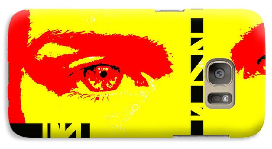 Eyes Galaxy S7 Case featuring the photograph Broken by Amanda Barcon