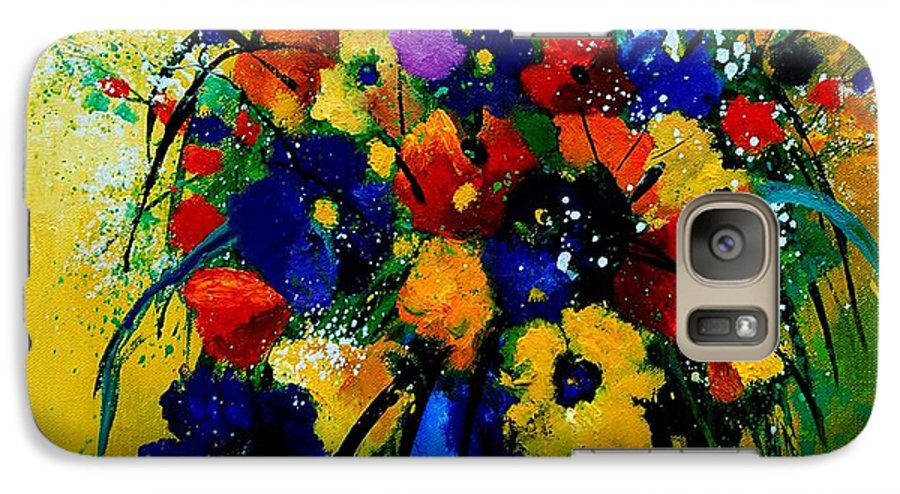Poppies Galaxy S7 Case featuring the painting Bunch 0508 by Pol Ledent