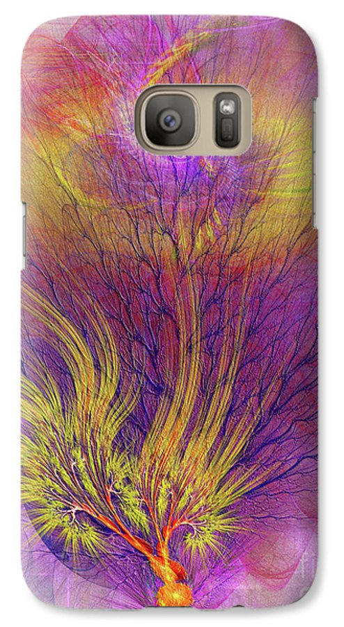 Burning Bush Galaxy S7 Case featuring the digital art Burning Bush by John Beck