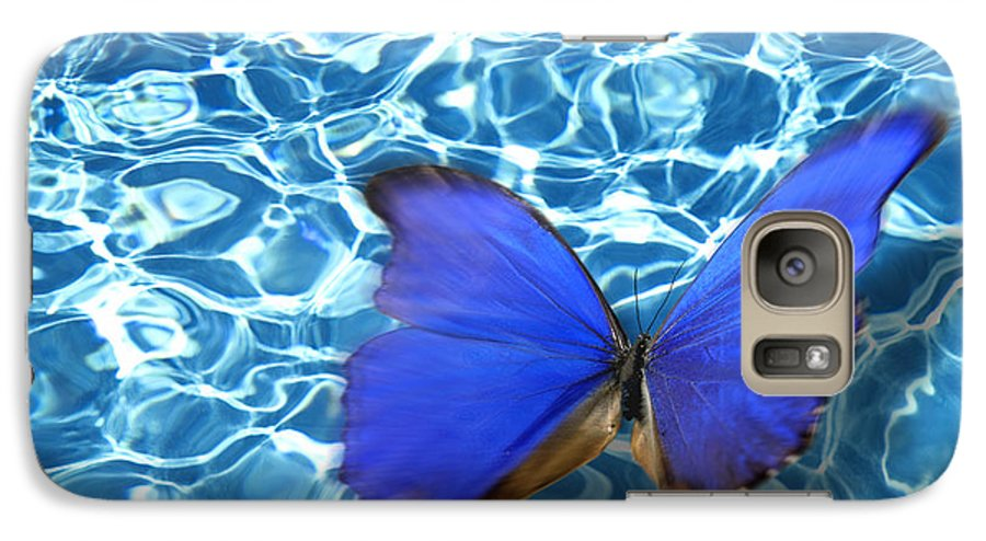 Animals Galaxy S7 Case featuring the photograph Butterfly by Tony Cordoza
