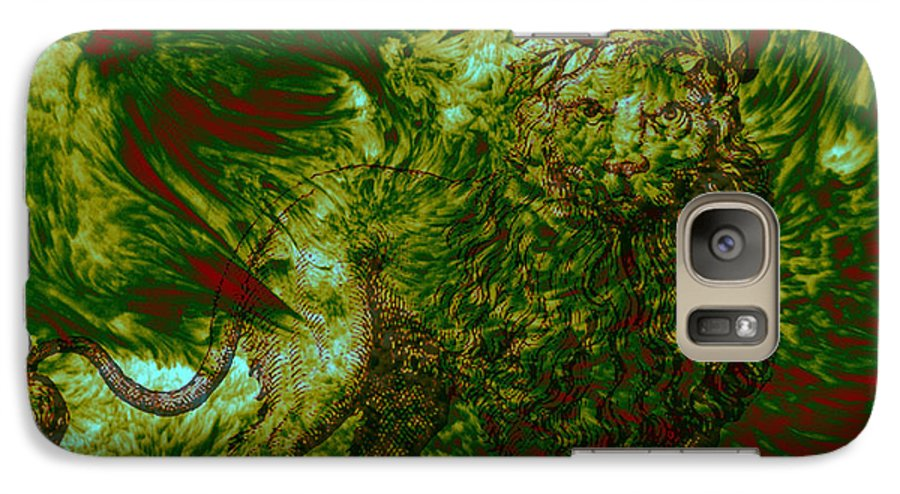 Forest Galaxy S7 Case featuring the photograph Can You See Me by Evelyn Patrick