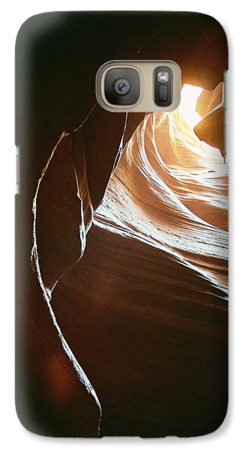 Landscape Galaxy S7 Case featuring the photograph Canyon Flares by Cathy Franklin