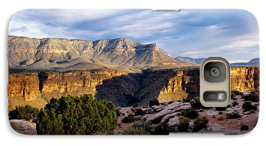 Toroweap Galaxy S7 Case featuring the photograph Canyon Walls At Toroweap by Kathy McClure