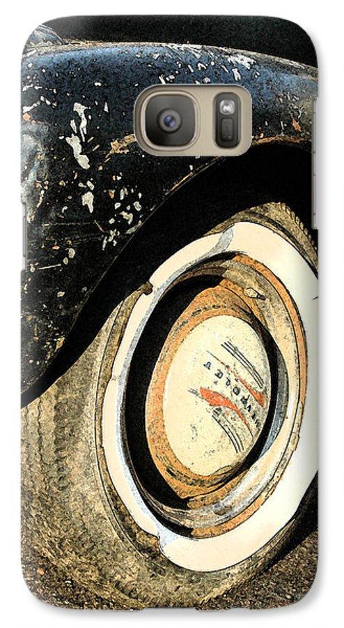 Car Galaxy S7 Case featuring the photograph Car Alfresco II by Kathy Schumann