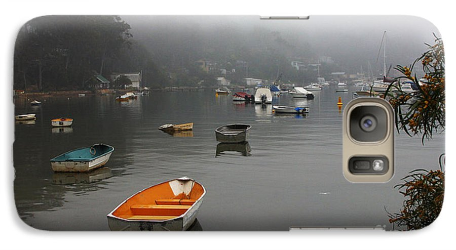Mist Galaxy S7 Case featuring the photograph Careel Bay Mist by Sheila Smart Fine Art Photography