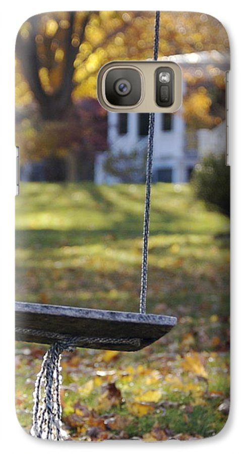 Swing Galaxy S7 Case featuring the photograph Carefree by Faith Harron Boudreau