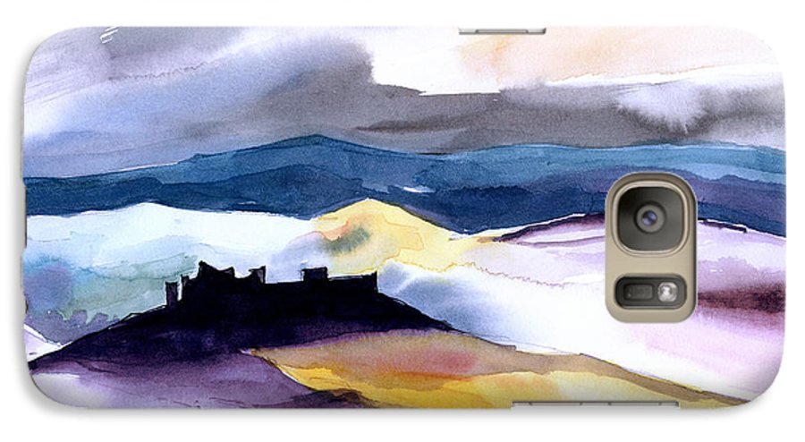 Water Galaxy S7 Case featuring the painting Castle by Anil Nene
