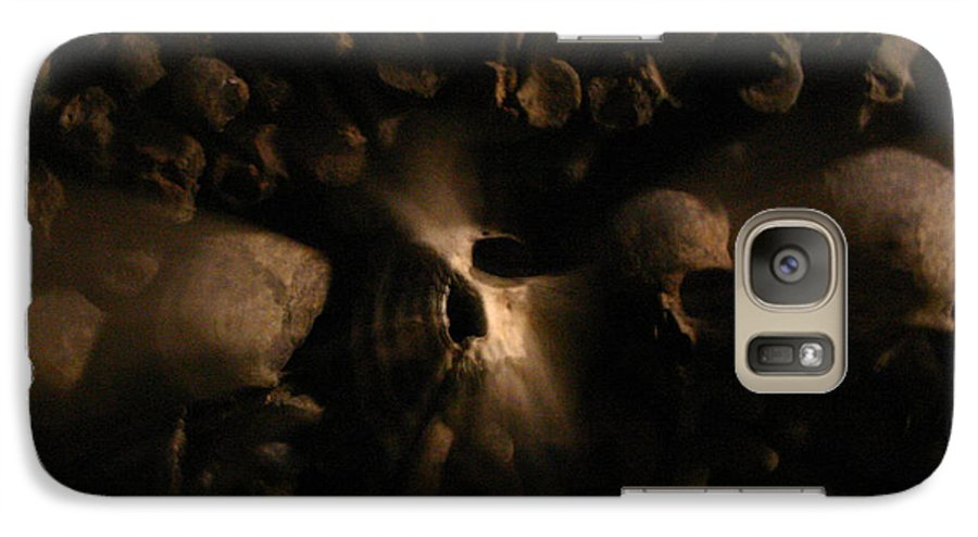 Galaxy S7 Case featuring the photograph Catacombs - Paria France 3 by Jennifer McDuffie