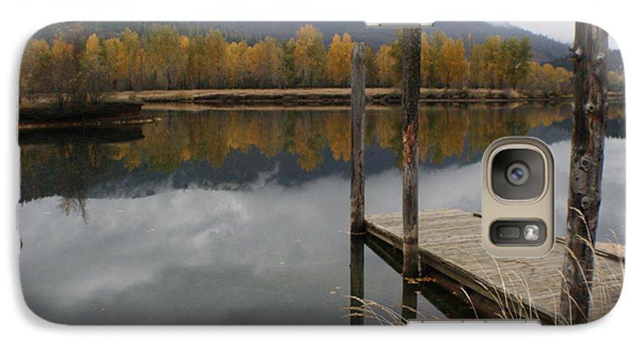 Cataldo Galaxy S7 Case featuring the photograph Cataldo Reflections by Idaho Scenic Images Linda Lantzy