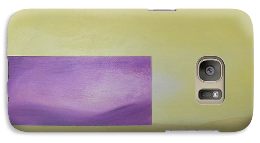 Abstract Galaxy S7 Case featuring the painting Change by Bojana Randall