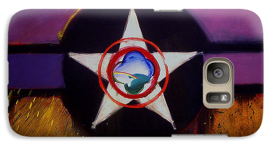 Air Force Insignia Galaxy S7 Case featuring the painting Cheyenne Autumn by Charles Stuart