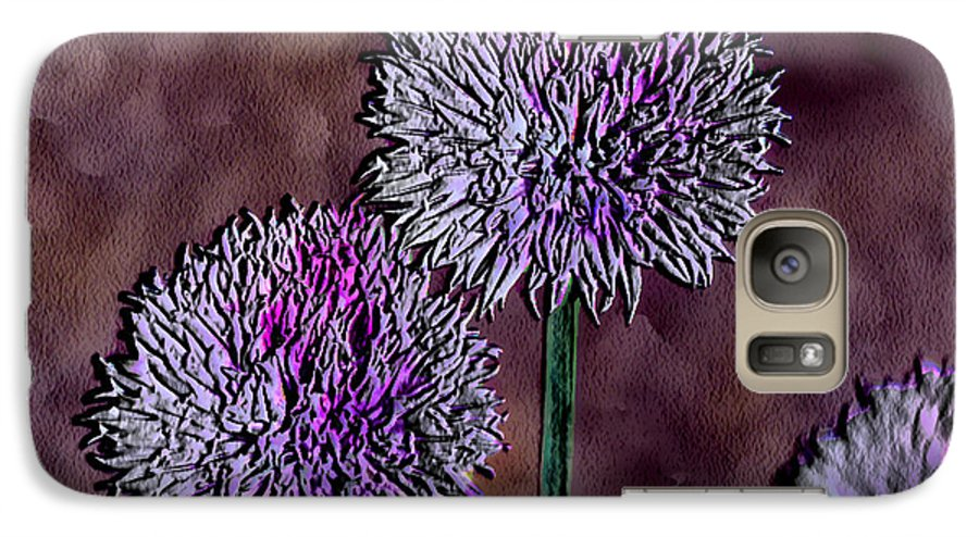 Ebsq Galaxy S7 Case featuring the photograph Chives by Dee Flouton