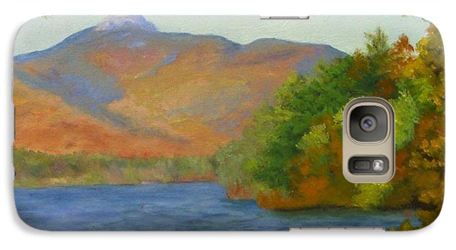 Mount Chocorua And Chocorua Lake Galaxy S7 Case featuring the painting Chocorua by Sharon E Allen