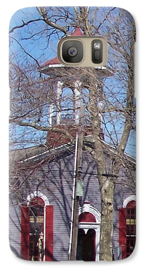 Church Galaxy S7 Case featuring the photograph Church In Woods by Pharris Art