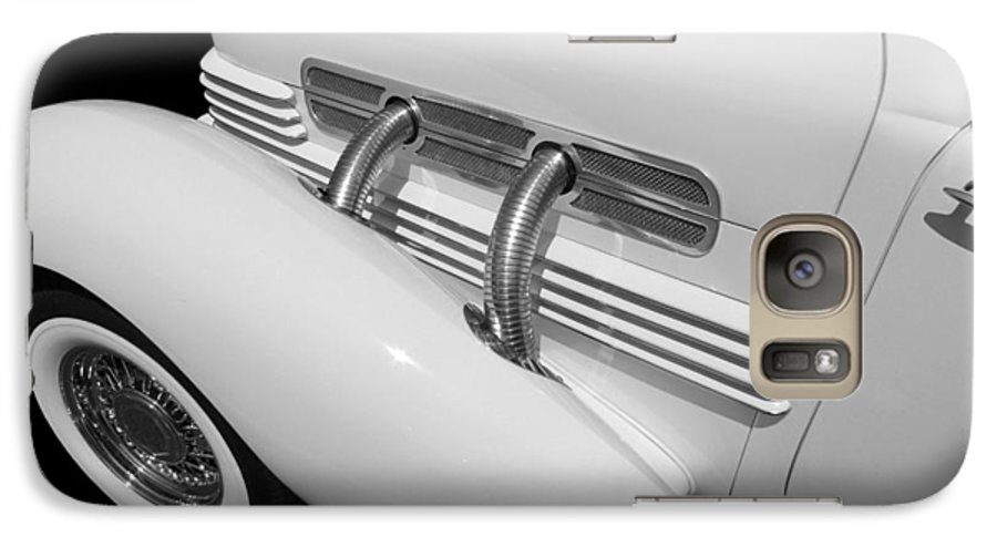 Classic Car Galaxy S7 Case featuring the photograph Classic Lines by Aaron Berg