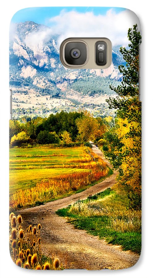 Americana Galaxy S7 Case featuring the photograph Clearly Colorado by Marilyn Hunt