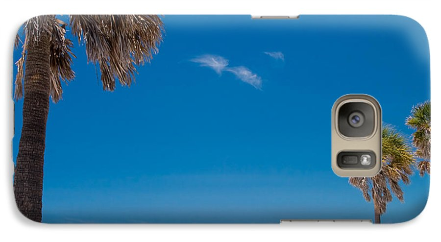 3scape Galaxy S7 Case featuring the photograph Clearwater Beach by Adam Romanowicz