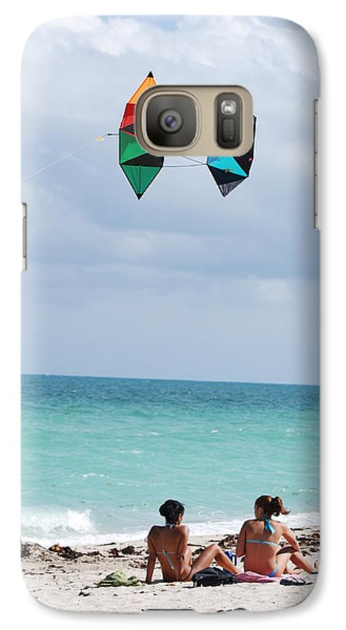 Sea Scape Galaxy S7 Case featuring the photograph Close Encounters by Rob Hans