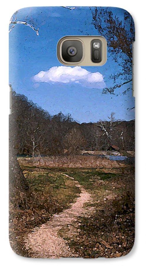 Landscape Galaxy S7 Case featuring the photograph Cloud Destination by Steve Karol