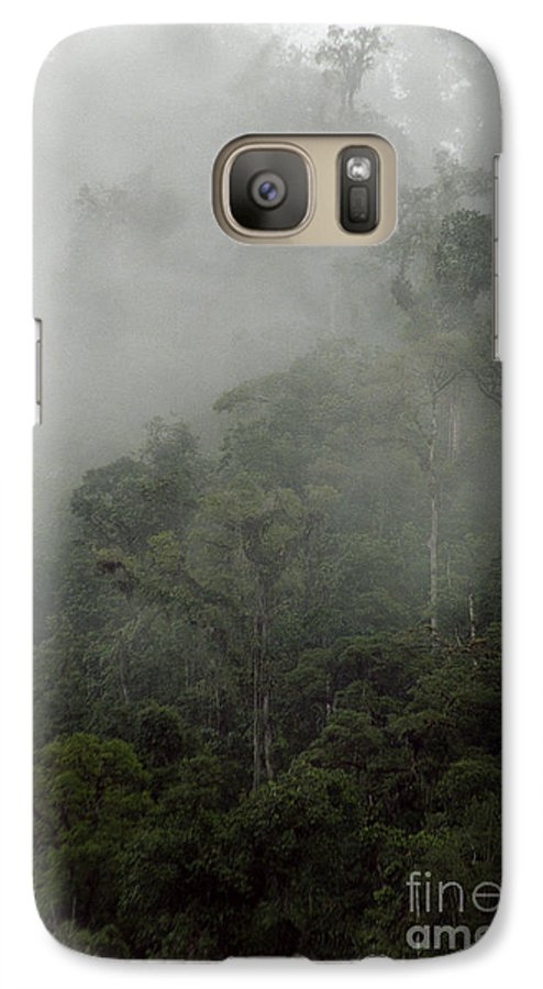 Rainforest Galaxy S7 Case featuring the photograph Cloud Forest by Kathy McClure