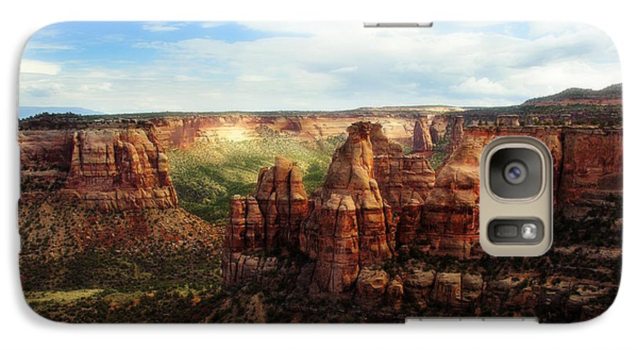 Americana Galaxy S7 Case featuring the photograph Colorado National Monument by Marilyn Hunt