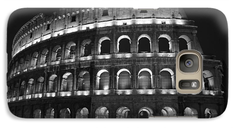 Italy Galaxy S7 Case featuring the photograph Colosseum by Kathy Schumann