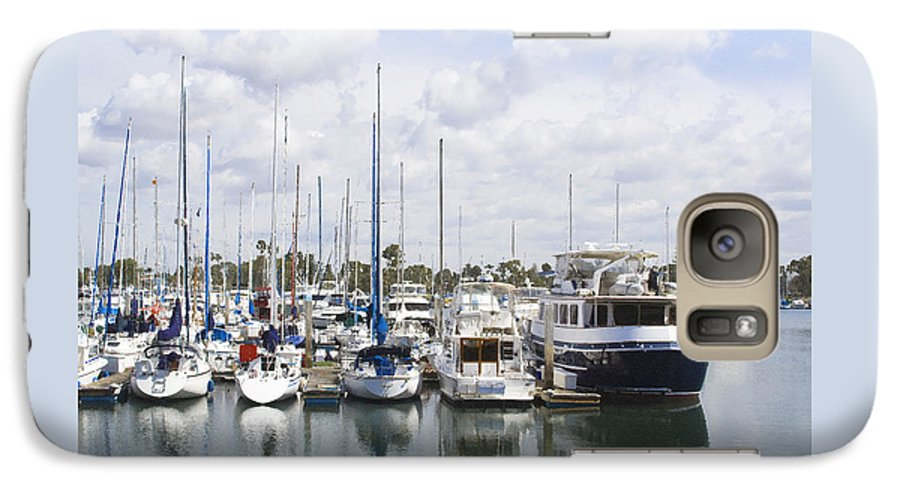 Coronado Galaxy S7 Case featuring the photograph Coronado Boats II by Margie Wildblood