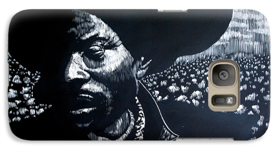 Galaxy S7 Case featuring the mixed media Cotton The Fabric Of Our Lives by Chester Elmore