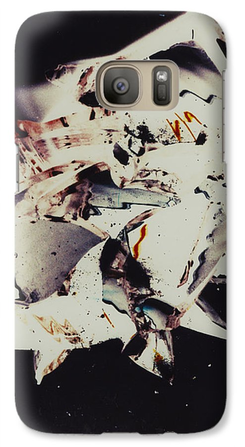 Abstract Galaxy S7 Case featuring the photograph Craft by David Rivas