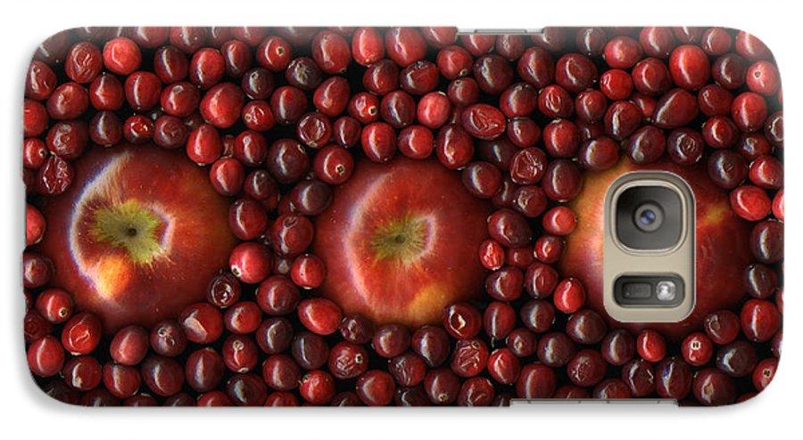 Slanec Galaxy S7 Case featuring the photograph Cranapple by Christian Slanec