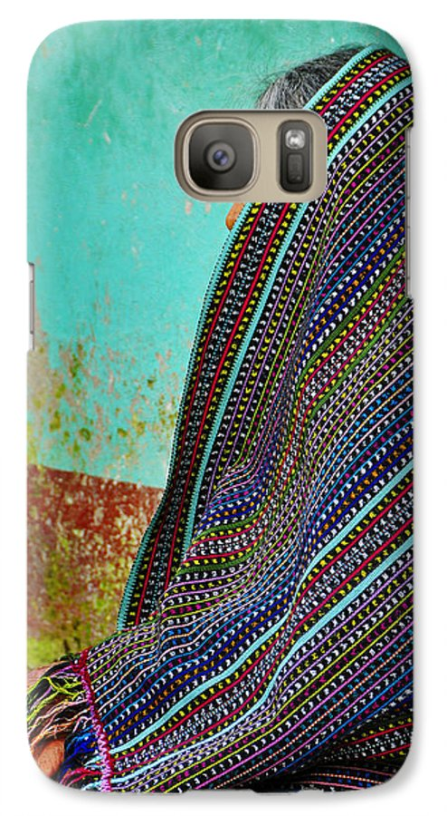 Skip Hunt Galaxy S7 Case featuring the photograph Curandera by Skip Hunt