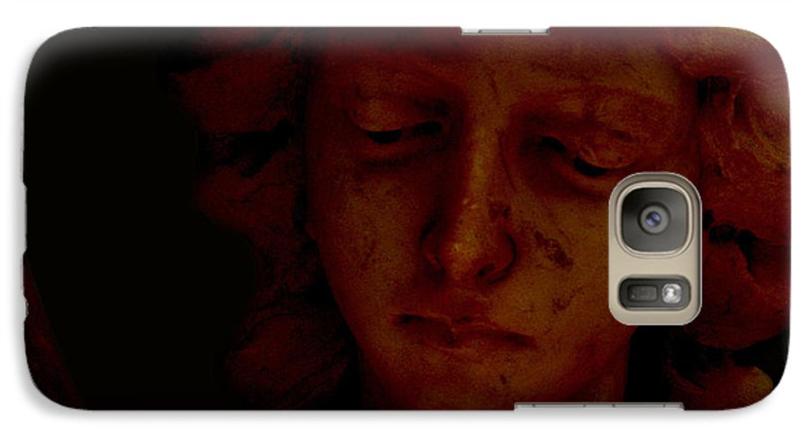 Angel Galaxy S7 Case featuring the photograph Dark Angel by Ruben Flanagan