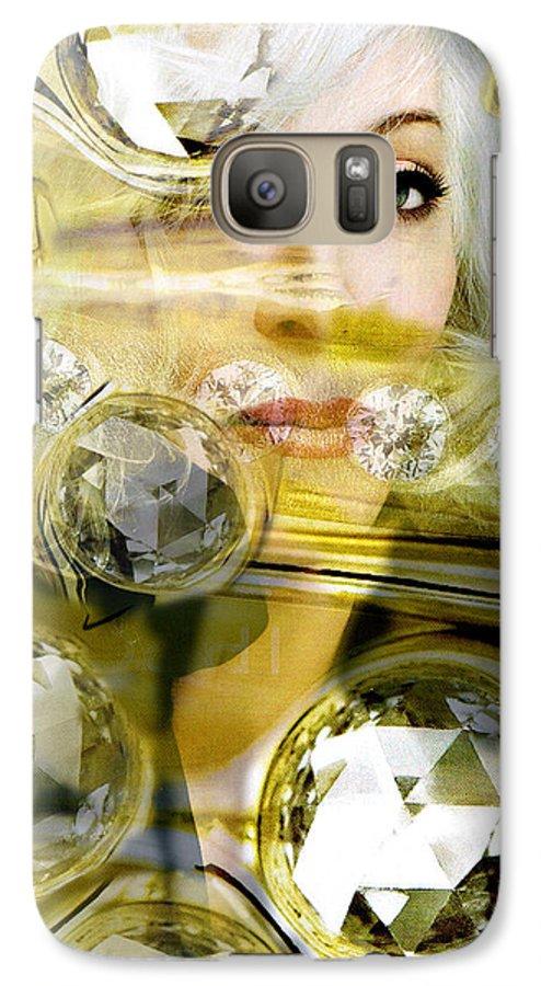 Women Galaxy S7 Case featuring the digital art Darling Diamonds by Seth Weaver
