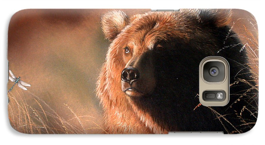 Wildlife Galaxy S7 Case featuring the painting Day Dream by Deb Owens-Lowe