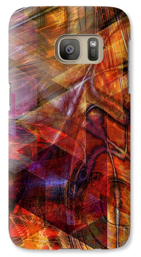 Deguello Sunrise Galaxy S7 Case featuring the digital art Deguello Sunrise by John Beck