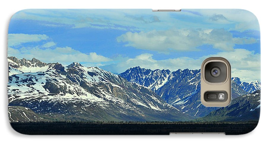 Denali Galaxy S7 Case featuring the photograph Denali Valley by Keith Gondron