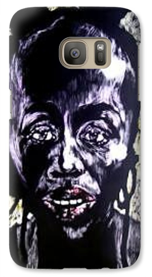 International Womens Day Galaxy S7 Case featuring the mixed media Digital Divide by Chester Elmore