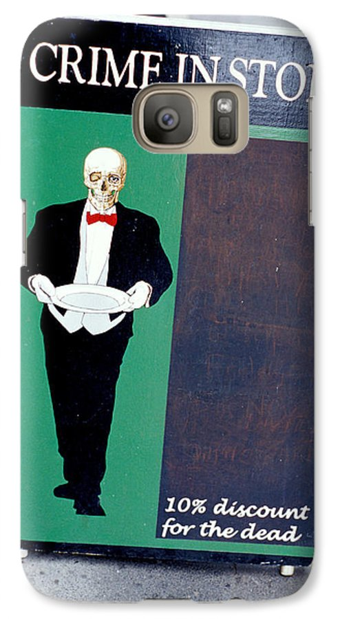Dead Galaxy S7 Case featuring the photograph Discount For The Dead by Carl Purcell