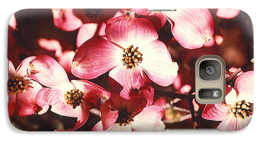 Dogwood Galaxy S7 Case featuring the photograph Dogwood Harmony by Nancy Mueller