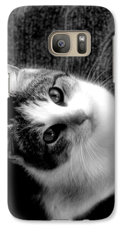 Cat Galaxy S7 Case featuring the photograph Don't Ever Leave by Gaby Swanson