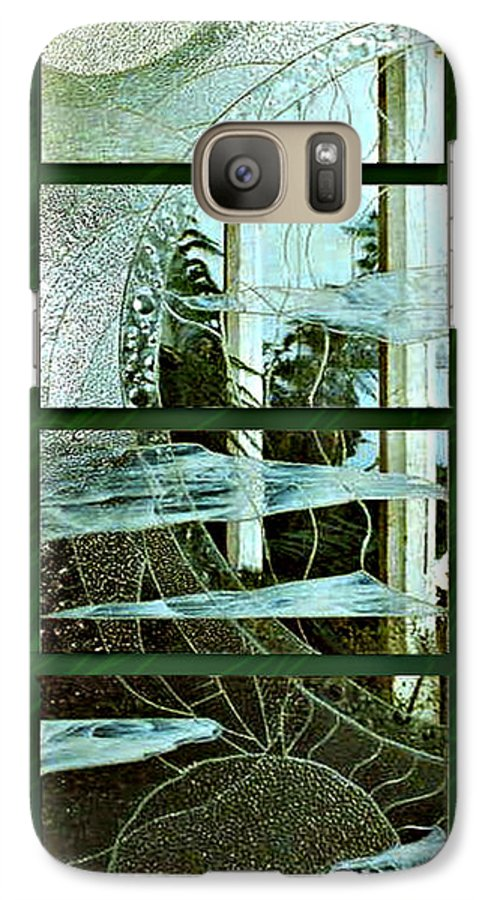 Photography Glass Landscape Galaxy S7 Case featuring the photograph 'door To The Universe' by Sarah King