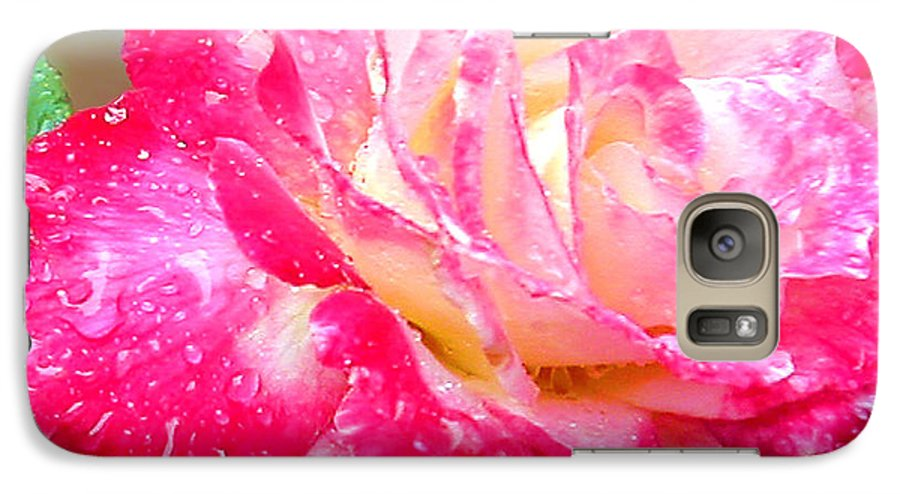 Fine Art Photography Galaxy S7 Case featuring the photograph Double Delight by Patricia Griffin Brett