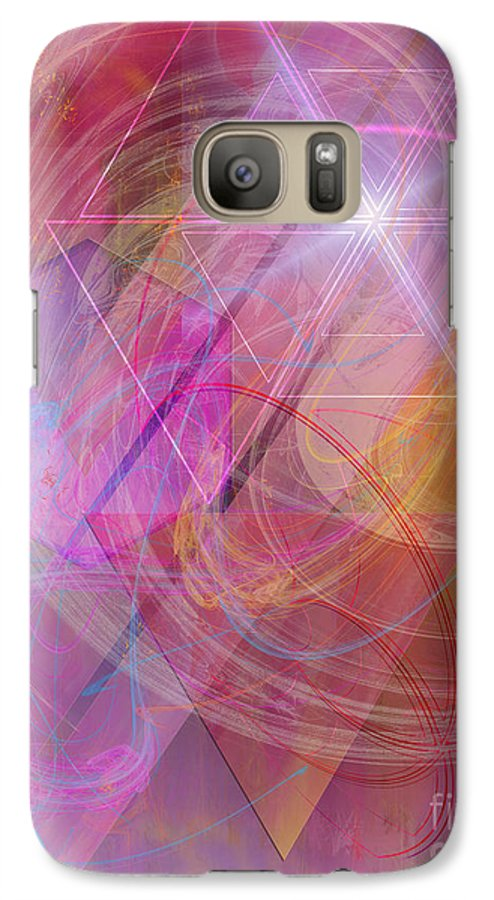 Dragon's Gem Galaxy S7 Case featuring the digital art Dragon's Gem by John Beck