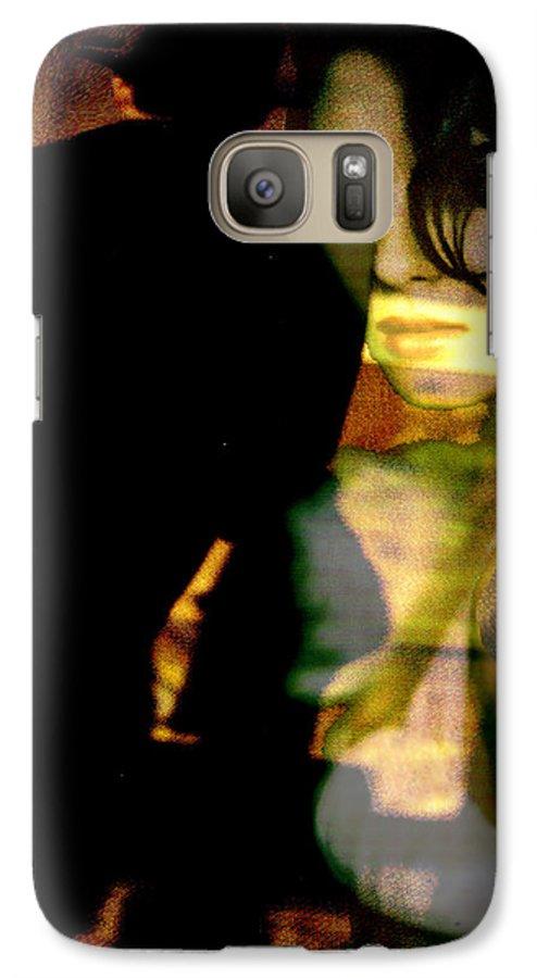 Mystery Galaxy S7 Case featuring the digital art Drama After Dark by Seth Weaver