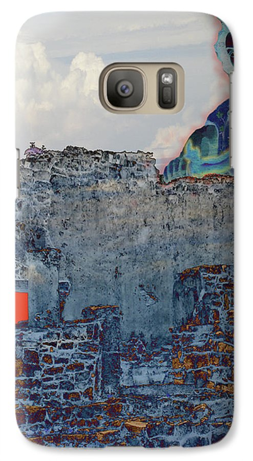 Tulum Ruins Galaxy S7 Case featuring the photograph Dream Of Tulum Ruins by Ann Tracy
